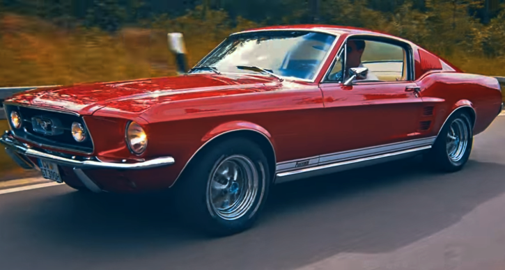 1967 ford mustang fastback 390 s code