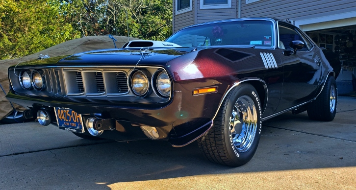 Story of Al Young's 1971 Plymouth Cuda 340 Build