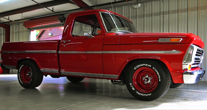 1968 ford f100 truck build