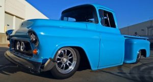 custom built 1956 chevy truck