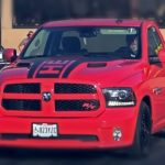 hemi powered dodge ram truck drag racing