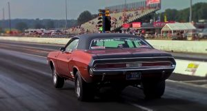 1970 dodge challenger rt drag racing