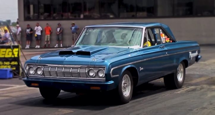 426 max wedge plymouth belvedere drag racing