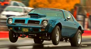 naturally aspirated pontiac firebird drag racing