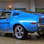 restomodded 1968 ford mustang fastback