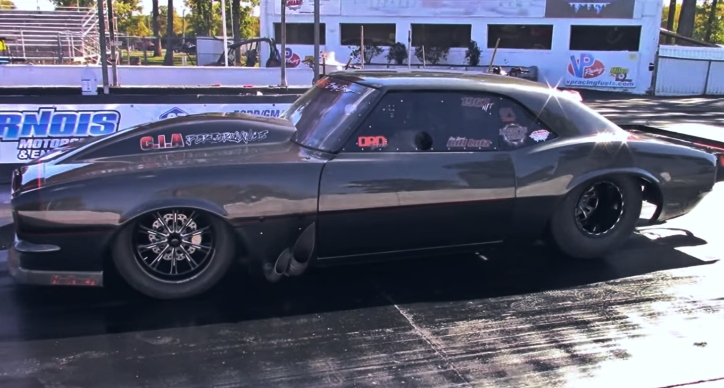 bill lutz camaro drag racing