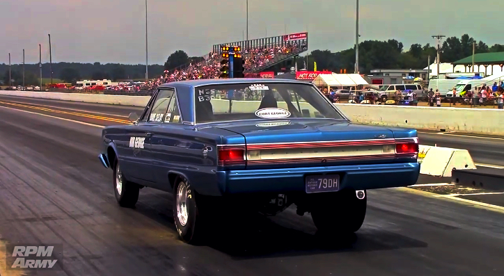 plymouth satellite 1/4 mile pass