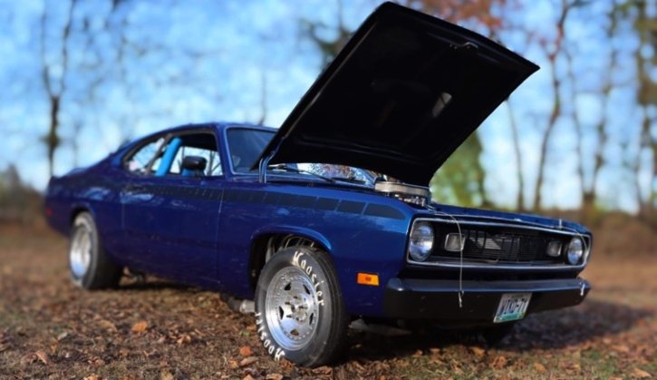 plymouth duster 512 stroker build
