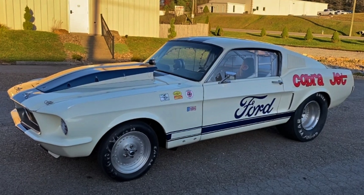 1968 ford mustang cobra jet race car