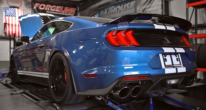 2020 shelby gt500 wheel horsepower dyno