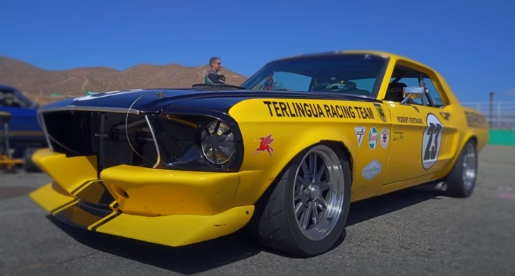 1968 ford mustang race car build
