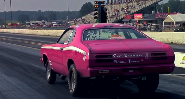 plymouth duster 440 drag racing