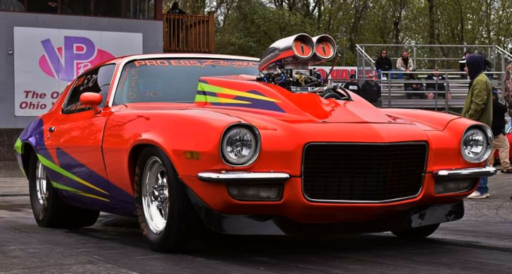 pro street chevy muscle cars drag racing