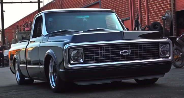built chevy c10 truck