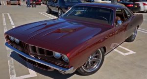 1971 plymouth cuda restomod