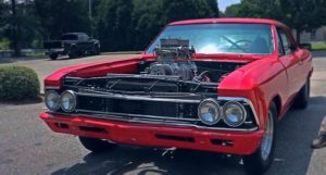 blown small block 1966 chevy chevelle build