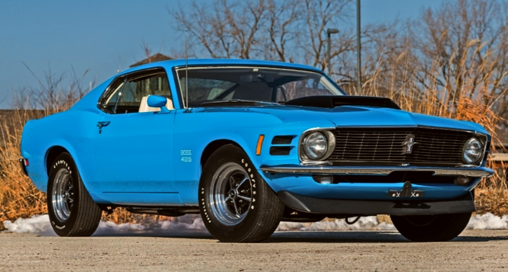 1970 ford mustang boss 429 concourse restorations
