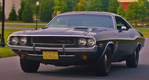 1970 dodge hemi challenger black ghost