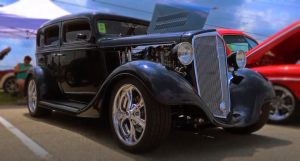 supercharged 1935 chevy street rod