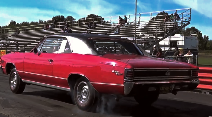 396 l78 chevelle ss drag racing