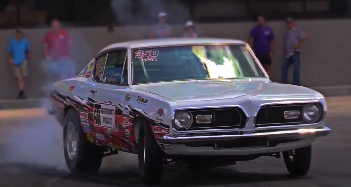 doug duell 1969 barracuda drag racing