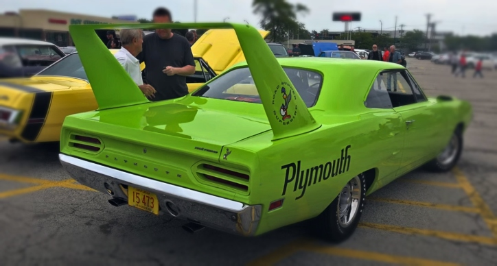 plymouth superbird 440 4-speed