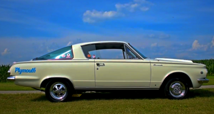 1965 plymouth barracuda in mint condition