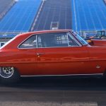 8 second 1967 chevy II nova drag racing