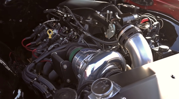 1970 chevy chevelle procharged ls engine