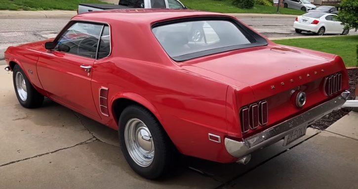 1969 ford mustang 302 automatic