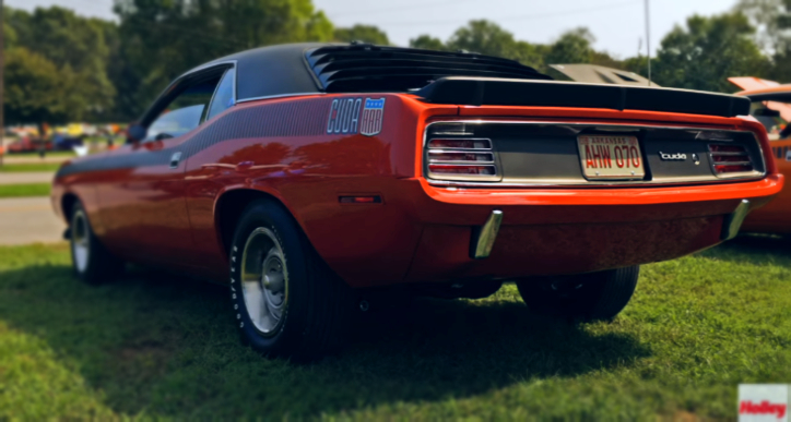 1970 plymouth cuda aar restoration