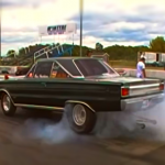 1967 plymouth hemi gtx drag racing