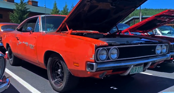 never restored 1969 dodge charger 500