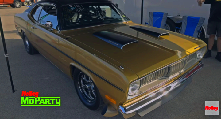 plymouth gold duster track build