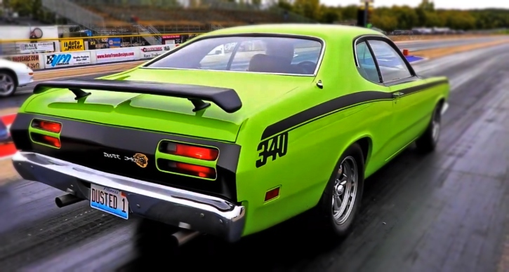 340 plymouth duster 1/4 mile