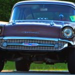 57 chevy drag car survivor