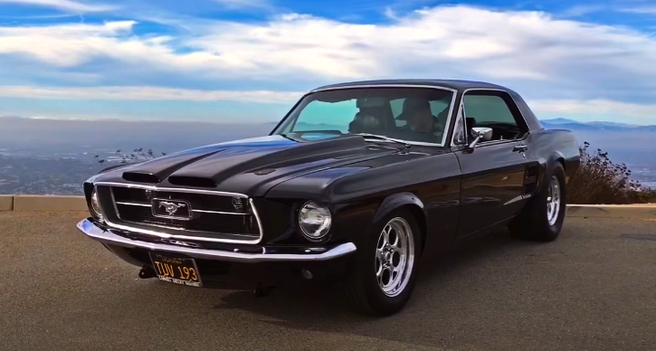 1967 ford mustang build