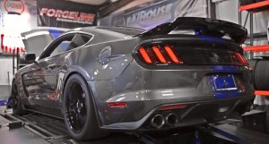 twin turbo shelby gt350 mustang dyno