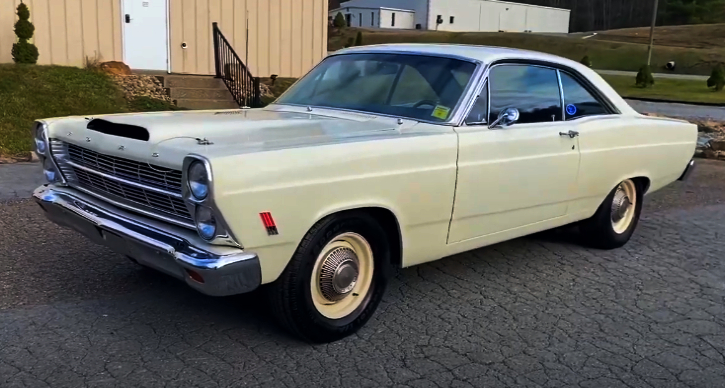 1966 ford fairlane 427 fe 4-speed