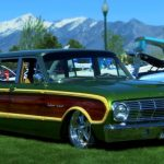 custom 1963 ford falcon squire wagon