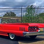convertible 1960 ford thunderbird