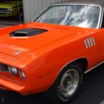 factory 440 six barrel 1971 plymouth cuda