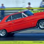 1967 chevy nova ss drag racing