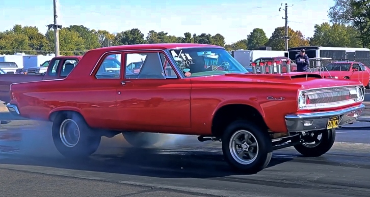 dodge hemi coronet afx drag racing