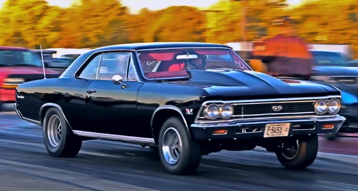 468 big block 1966 chevy chevelle drag racing