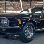 black on black 1970 ford mustang 428 cobra jet