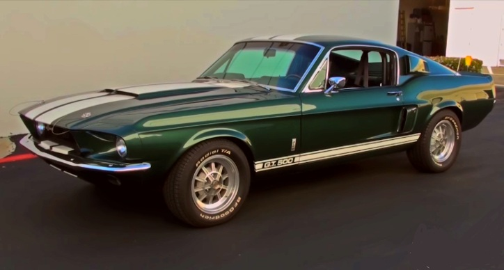 preserved 1967 shelby gt500 automatic