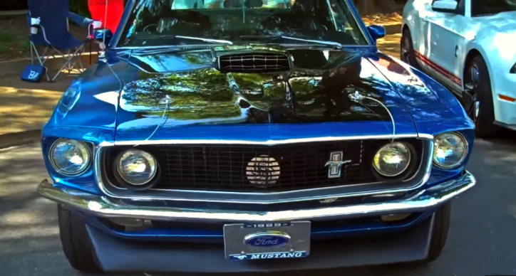 1969 ford mustang mach 1 customized
