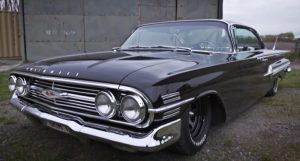 black 1960 chevy impala build