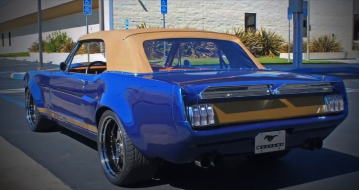 convertible wide body 1964.5 ford mustang